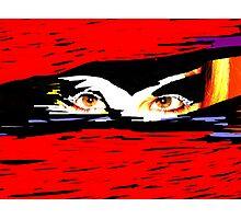 Voodoo Eyes Photographic Print