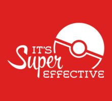 Super Effective (White) T-Shirt