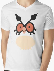 Hoothoot Mens V-Neck T-Shirt