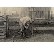 Year of the Farmer by Rosalie Drew Photographic Print