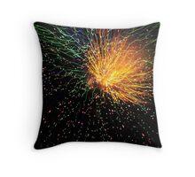 Firework Sunburst 2 Throw Pillow