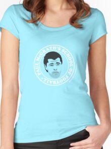 PAUL McGRATH'S SCHOOL OF FOOTBALL**Attendance is Optional Women's Fitted Scoop T-Shirt