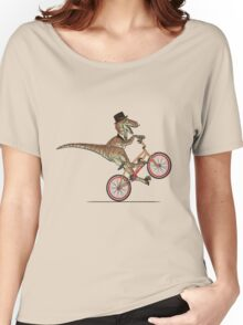 Dino Bike Women's Relaxed Fit T-Shirt