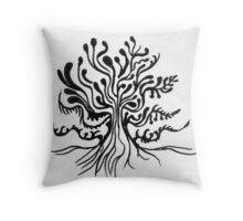 Fruit Tree Throw Pillow