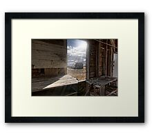 View from the Grain Elevator Framed Print