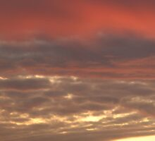 Red Sky at Dawn by fitch