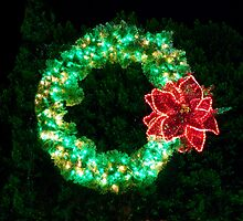 Evergreen Wreath by phil decocco