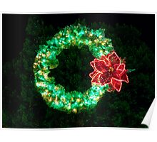 Evergreen Wreath Poster