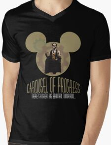 Carousel of Progress: THE SHIRT! Mens V-Neck T-Shirt