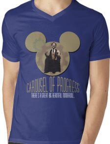 Carousel of Progress: THE SHIRT! Mens V-Neck T-Shirt