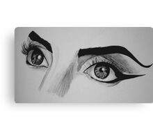 Lady Gaga Telephone Eyes Canvas Print
