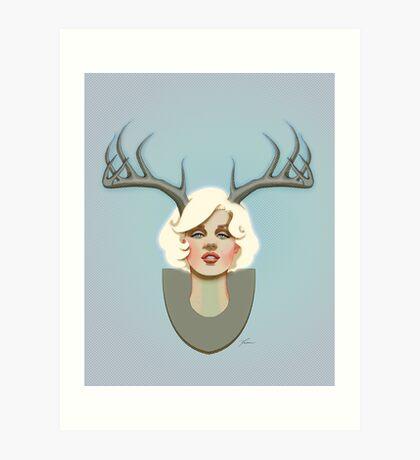 Dear Marilyn Art Print