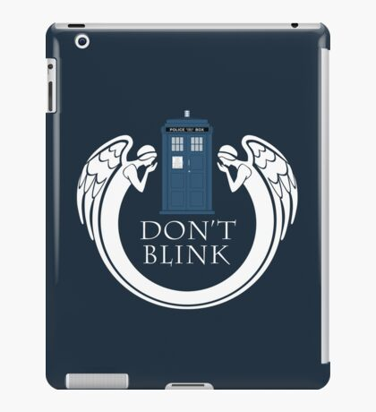 Doctor Who angels TARDIS iPad Case/Skin