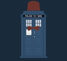 Doctor Who fez TARDIS eleventh doctor by nouvellegamine