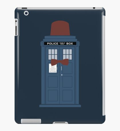 Doctor Who fez TARDIS eleventh doctor iPad Case/Skin