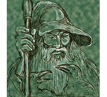 Interpretation of Gandalf Photographic Print