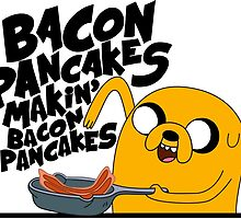 Bacon Pancakes by star-truk
