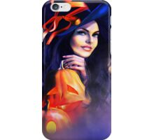 Jack-O-Lantern Witch iPhone Case/Skin