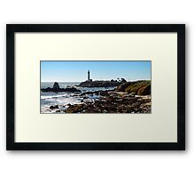 Pigeon Point Light House Framed Print