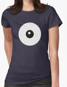 Unown Eye - Smaller Womens Fitted T-Shirt