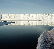 Bright Day Iceberg, Ross Sea, Antarctica  by Carole-Anne
