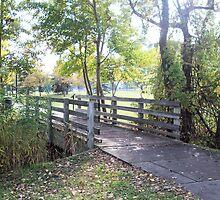 Riverwalk Bridge by Francis LaLonde