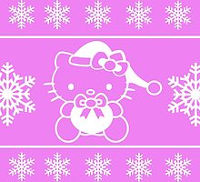 Hello Kitty say Merry Christmas by AkunBodong