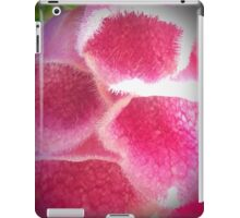 Pink And White Bell Flowers iPad Case/Skin