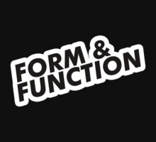 Form & Function  by Yohann Paranavitana