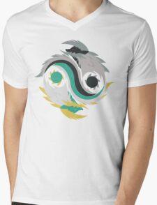 Balance - Jinouga Mens V-Neck T-Shirt