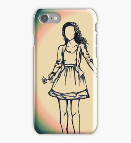 Summer Walks iPhone Case/Skin