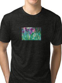Vivid Grasses Machine Dreams Tri-blend T-Shirt