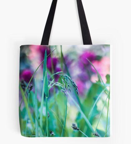 Vivid Grasses Tote Bag