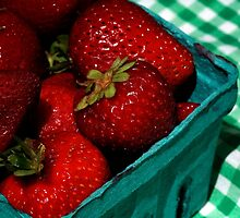 Strawberries!! by ZWC Photography