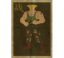 FIGHT: Street Fighter #2: Guile Photographic Print