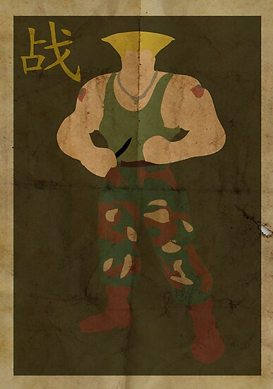 FIGHT: Street Fighter #2: Guile by caseyjennings