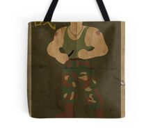 FIGHT: Street Fighter #2: Guile Tote Bag