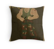 FIGHT: Street Fighter #2: Guile Throw Pillow