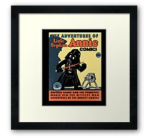 Little Annie and the Troopers Framed Print