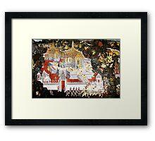 Grand Palace Bangkok Thailand 6 Framed Print