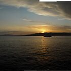 Sunset at Cap d'Antibes by stephane j. allier