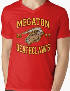 Megaton Deathclaws Mens V-Neck T-Shirt