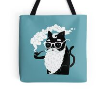 Whiskers And Pipe Tote Bag