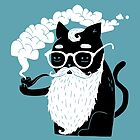 Whiskers And Pipe by obinsun
