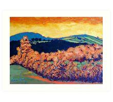 Tara Hill, Wexford Art Print