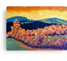 Tara Hill, Wexford Canvas Print