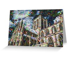 York Minster Machine Dreams Greeting Card