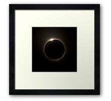 Solar Eclipse 2012 Framed Print