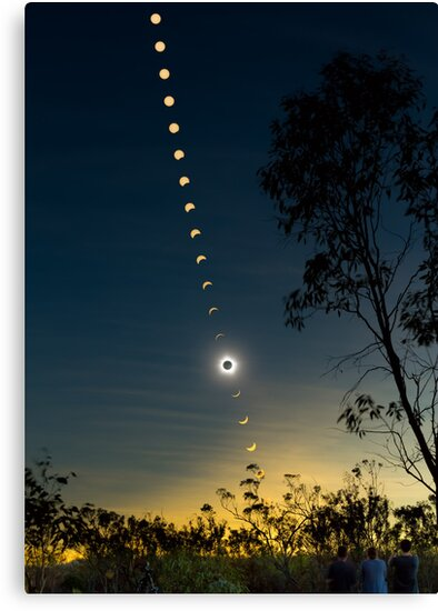 Solar Eclipse Composite 2012 by Phil Hart