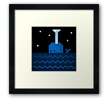 Whale Games Framed Print